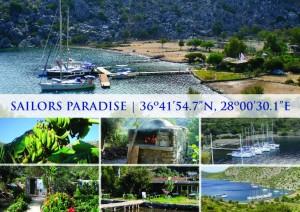 Sailors Paradise Postkarte