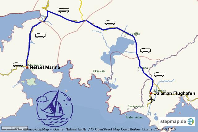 stepmap-karte-dalaman-marmaris-transfer