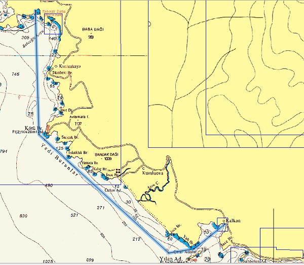 Cold Water Bay - Kalkan