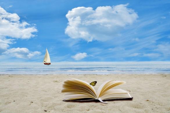 Segelschiff + Buch